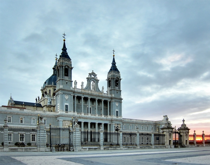 Art and Liturgy - Almudena Cathedral Madrid Exterior