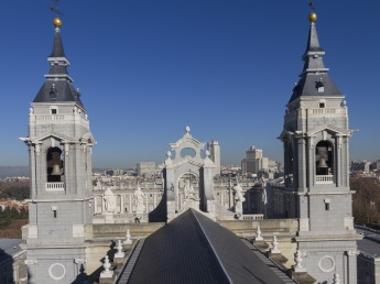 Art and Liturgy - Almudena Madrid cool roof shot