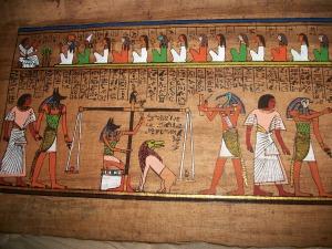 Art and Liturgy - Ancient Egyptian Hieroglyphs