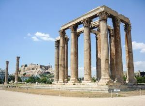Art and Liturgy - Greek column - entasis in action