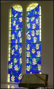 Art and Liturgy - Matisse Vence Chapel Stained Glass Windows