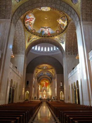 Art and Liturgy - Basilica of the National Shrine of the Immaculate Conception Upper Church Washington DC
