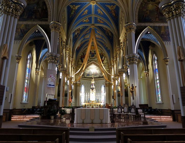 Art and Liturgy - Basilica of the Sacred Heart - Notre Dame Indiana