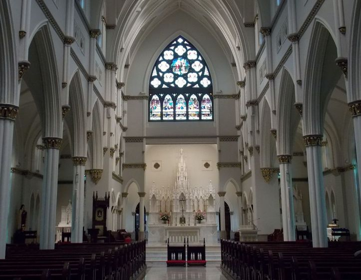 Art and Liturgy - Cathedral of Saint John the Baptist Charleston South Carolina