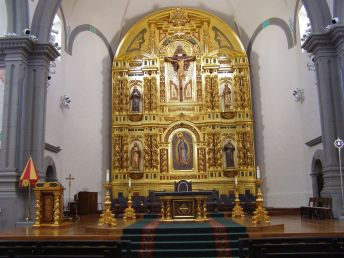 MISSION BASILICA OF SAN JUAN CAPISTRANO — sanctuary