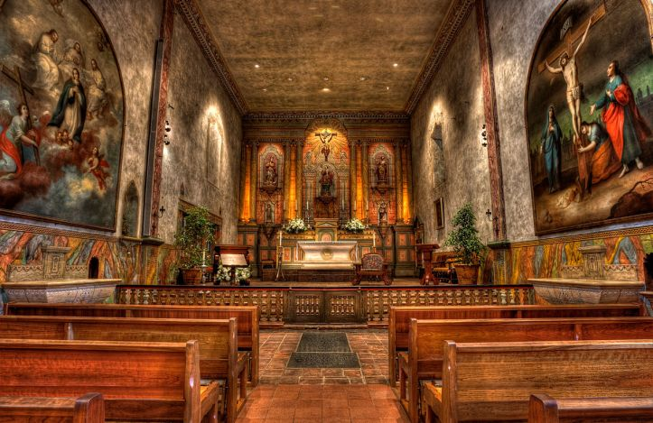 Art and Liturgy - Mission Santa Barbara California