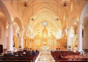 Art and liturgy - Our Lady of the Angels Monastery chapel - EWTN Mother Angelica - Hanceville Alabama