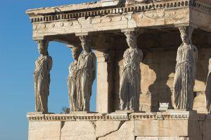 Art and Liturgy - Porch of Maidens Erechtheion - Greek classical architecture Catholic church