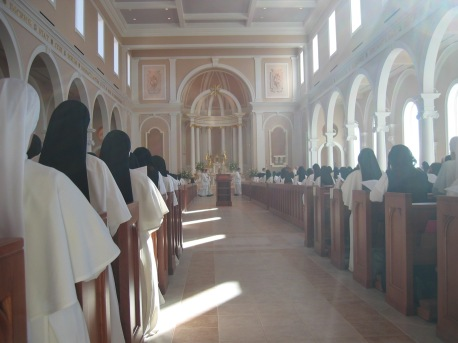 Art and Liturgy - Saint Cecilia Chapel at Motherhouse of Nashville Dominicans - Tennessee