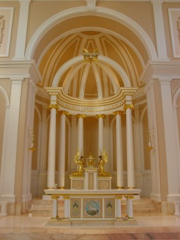 Art and Liturgy - Saint Cecilia Chapel for Nashville Dominican Motherhouse - Sanctuary