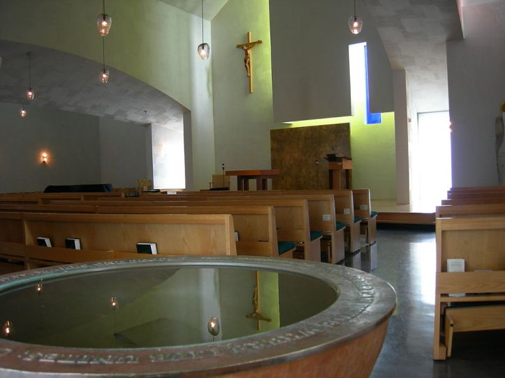 Art and Liturgy - Saint Ignatius Chapel at University of Seattle Washington