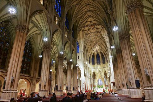 SAINT PATRICK CATHEDRAL — By Jean-Christophe BENOIST (Own work) [CC BY 3.0 (http://creativecommons.org/licenses/by/3.0)], via Wikimedia Commons