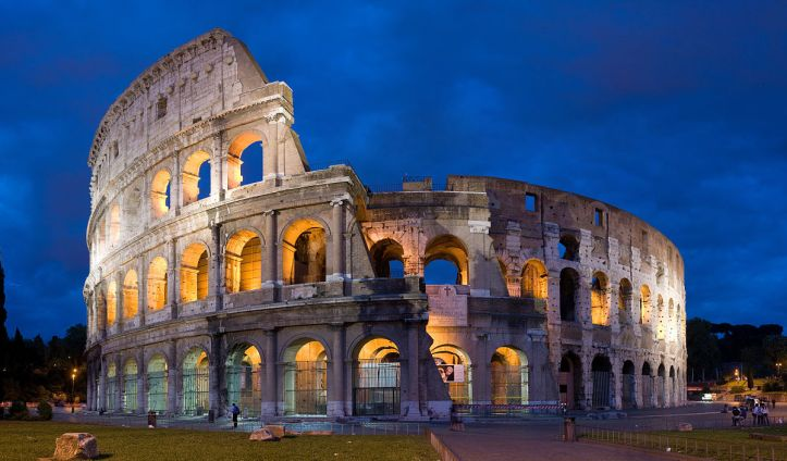 Art and Liturgy - Colosseum - Ancient Rome arches