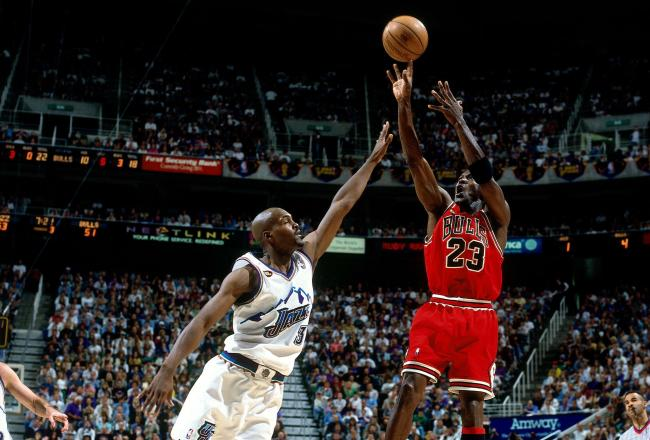 Art and Liturgy Michael Jordan Chicago Bulls Utah Jazz NBA Finals