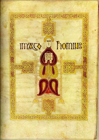 Art and Liturgy - Imago Hominis Echternach Gospels Luxembourg