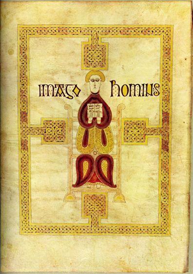 Art and Liturgy - Imago Hominis Echternach Gospels Luxembourg