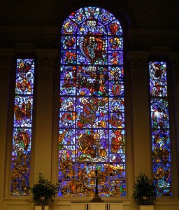 Art and Liturgy - Willet Hauser Sculptured Gold Stained Glass Window - Second Presbyterian Louisville Kentucky