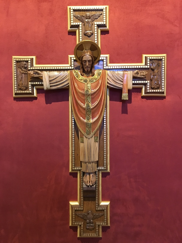 Art and Liturgy - Christ the High Priest Crucified statue