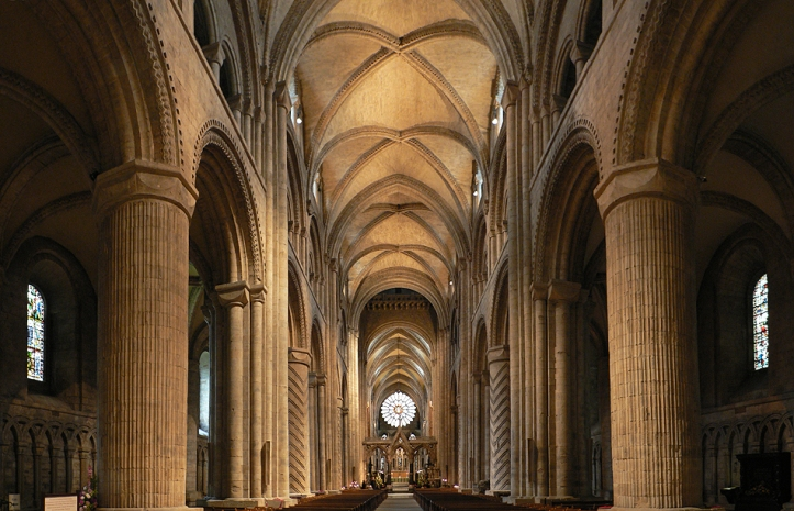 Art and Liturgy - Durham Cathedral - Romanesque architecture