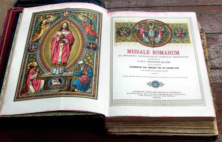 Art and Liturgy - Illustrated 1911 Roman Missal