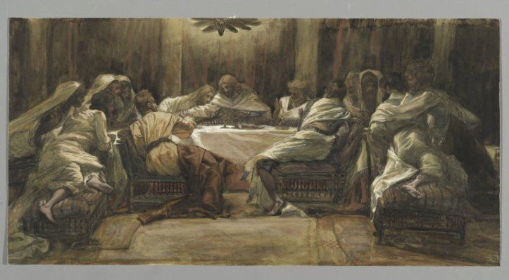 Art and Liturgy - James Tissot Last Supper Painting