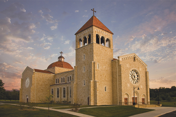 Art and Liturgy - new Saint John Neumann Church Knoxville Tennessee Neo-Romanesque