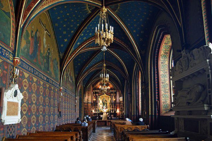 Art and Liturgy - Saint Francis Basilica Krakow Poland Interior 2