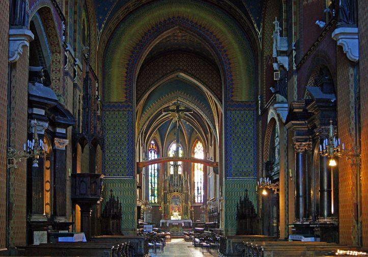Art and Liturgy - Saint Francis Basilica Krakow Poland Interior 3