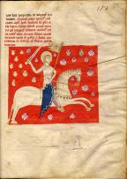 Image of St. James from the Codex Calixtinus (12th c.)