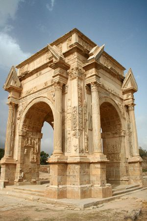 Art and Liturgy - Arch of Septimius Severus at Leptis Magna