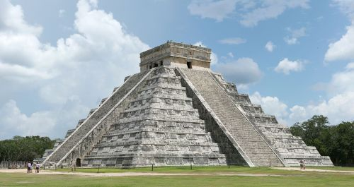 Art and Liturgy - Chichen Itza Mayan Pyramids