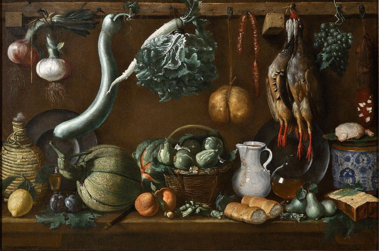 Art and Liturgy - Jacopo da Empoli Still Life
