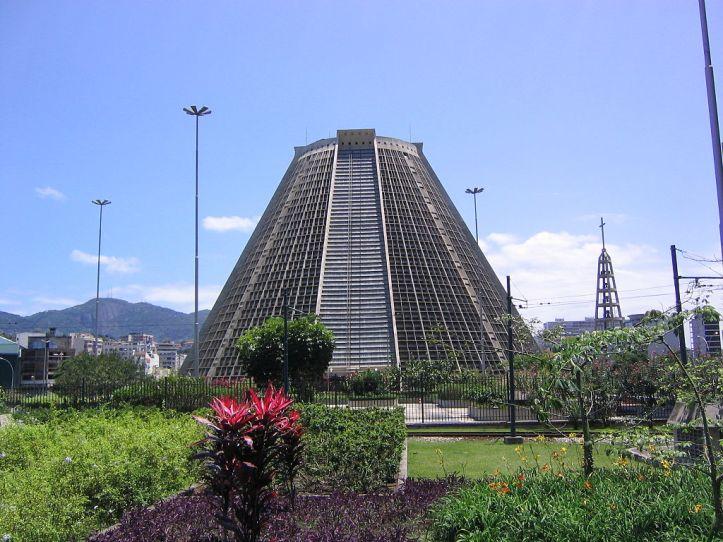 Art and Liturgy - Metropolitan Cathedral of San Sebastian Rio de Janeiro Brazil Exterior