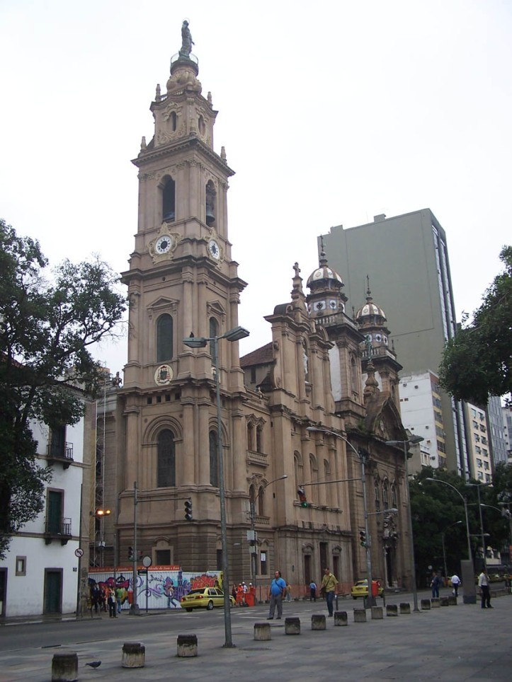 Art and Liturgy - Old Cathedral of Our Lady of Mount Carmel Rio de Janeiro Brazil
