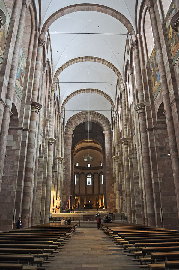 Art and Liturgy - Speyer Cathedral Groin Vaults