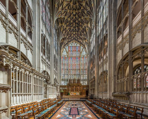 Art and Liturgy - High Altar at Gloucester Cathedral England