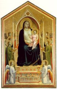 Giotto, Madonna in Majesty, c. 1320