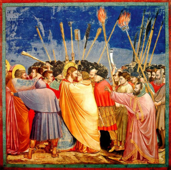 art-and-liturgy-giotto-kiss-of-judas-scrovegni-chapel