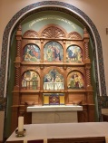Cathedral Basilica of St. Francis Assisi (Santa Fe, NM). Blessed Sacrament Chapel [with tabernacle from Granda :) ]