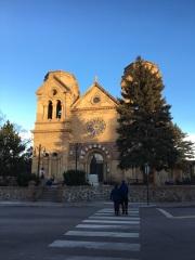 Cathedral Basilica of St. Francis Assisi (Santa Fe, NM). Exterior.