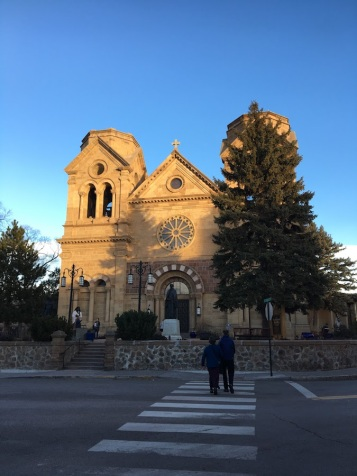 Cathedral Basilica of St. Francis Assisi (Santa Fe, NM). Exterior.