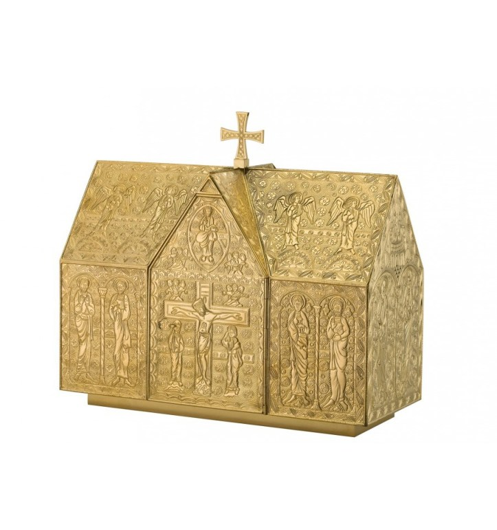 art-and-liturgy-granda-tabernacle-romanesque-engraved