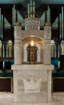 Cathedral of Christ the King, Lexington, KY. Tabernacle. Photo scourtesy of the parish and MoTyme Photography.