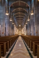 Cathedral of Mary our Queen (Baltimore, MD). Interior Vista. Photo by James Rosenthal, provided by parish.