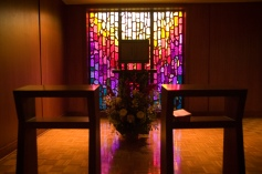 Chapel of Christ the Teacher at University of Portland (Portland, OR). Blessed Sacrament Chapel. Photo provided by UP Campus Ministry.