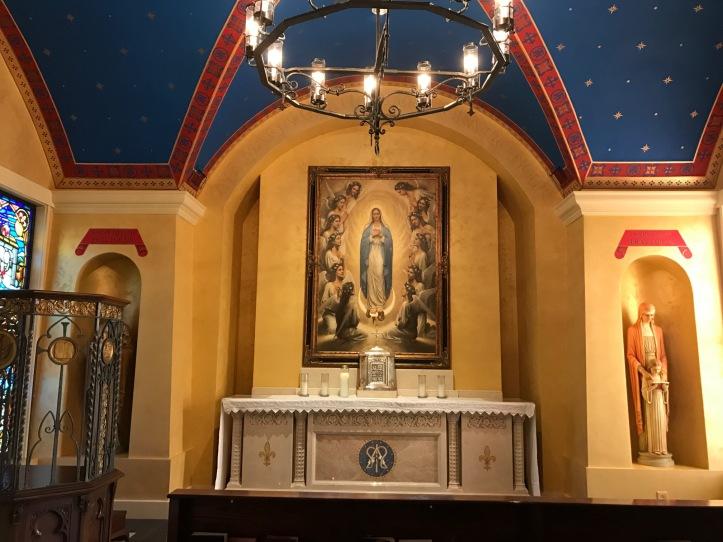 Art And Liturgy Church Madness 2017 St Ann Church Side Chapel Charlotte Nc 1