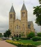 St. Bernard Church (Akron, OH). Exterior and façade. Photo provided by parish.