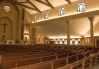 St. Paul Church (Nampa, ID). Angled interior vista. Photo provided by parish.
