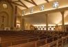 St. Paul Church (Nampa, ID). Angled interior vista. Photo provided by parish.