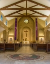 St. Paul Church (Nampa, ID). Nave view. Photo provided by parish.